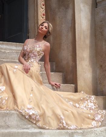 Официална рокля Paeonia, колекция 2017