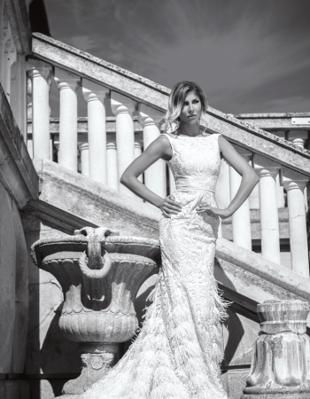 Сватбена рокля Elizabeth B&W, колекция 2017