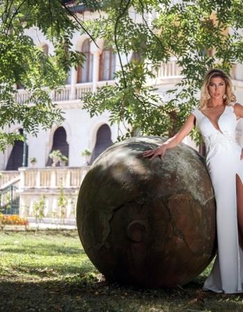 Сватбена рокля White Pearl, колекция 2017