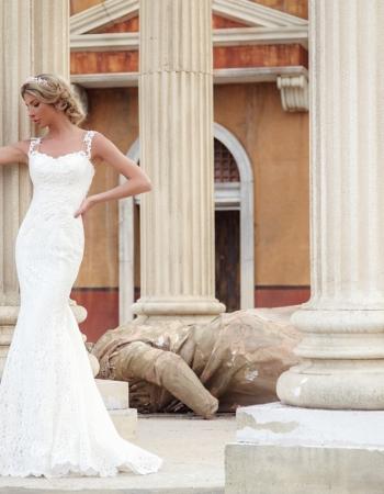 Сватбена рокля Megan, колекция 2017