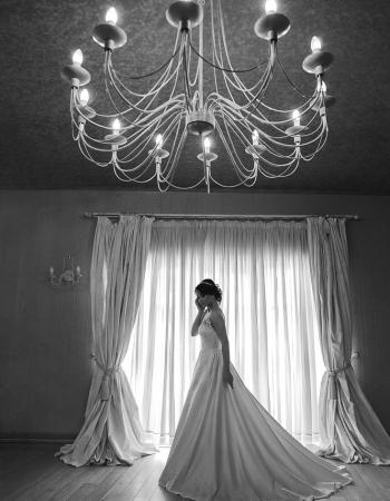 Сватбена рокля Beverly B&W, колекция 2016