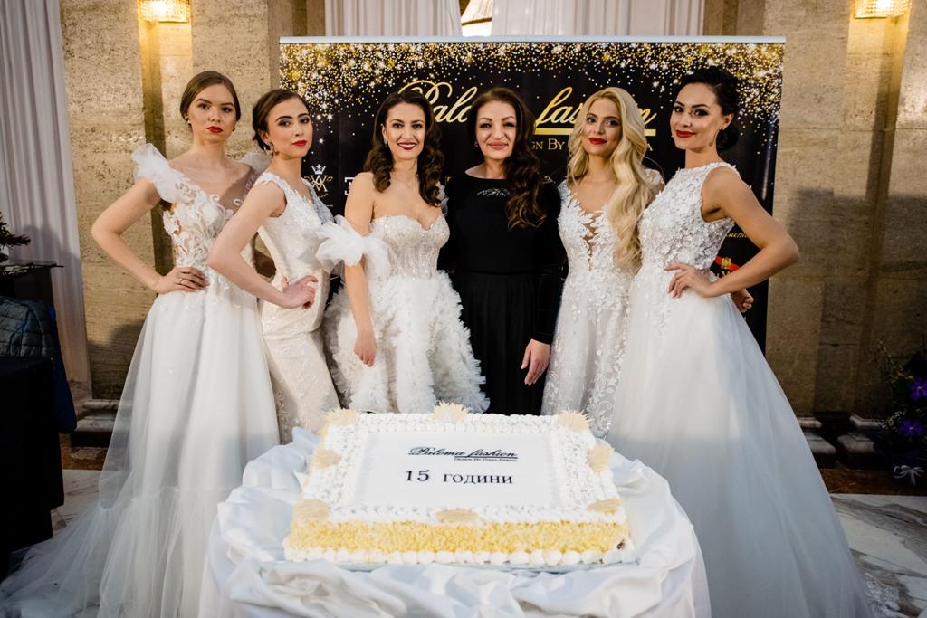 """Дизайнерът Поля Кинова представи своята нова колекция от сватбени и официални тоалети """"ОДИЛИЯ"""" на 20 февруари 2020 г. в хотел """"Балкан"""""""