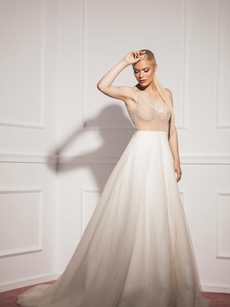 Булчинска рокля Pearls