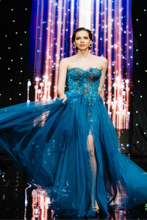 Официална рокля Turquoise 1