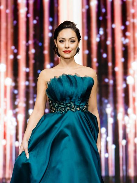 Официална рокля Emerald green